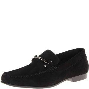 Stacy Adams Eagon Bit Slip On Loafers Black 10M